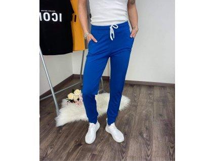 Dámske teplákové nohavice light blue
