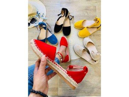 Dámske sandále 5334 red