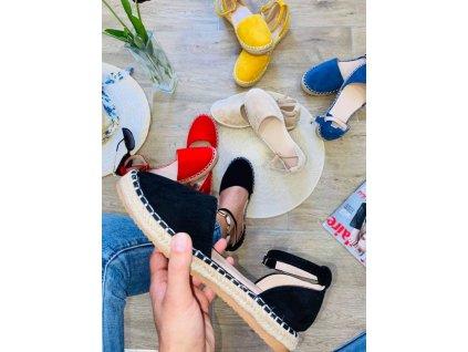 Dámske sandále 5334 black