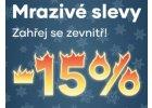 Zahřej se s 15% slevou