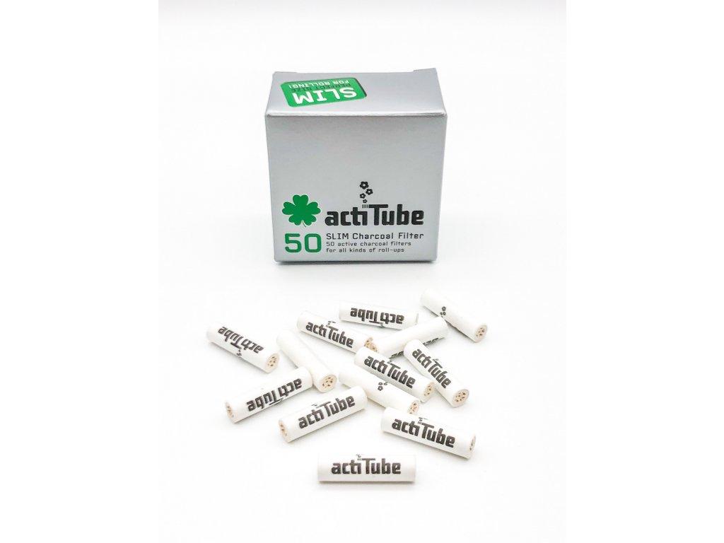 Uhlíkové filtry actiTube' Activated Carbon Filter - ACTITUBE FILTERS - Ø 7mm - 50ks