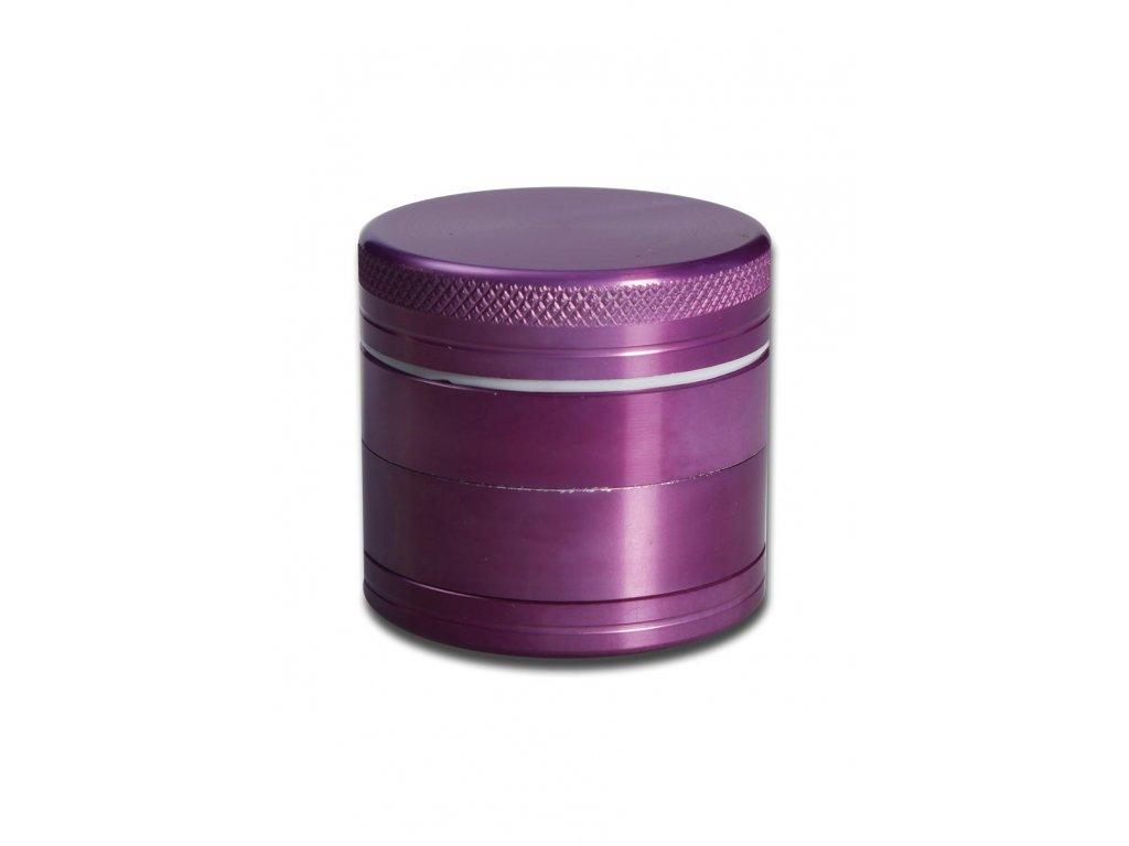Metalicko-fialová drtička Ø 4 cm