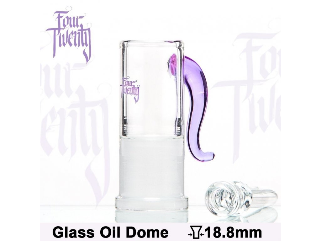 Oil Dome and Nail 420 Series | Purple