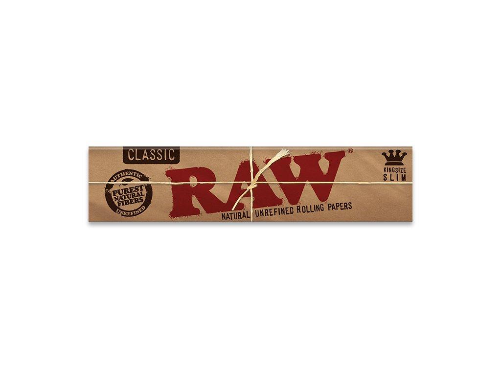 Papírky RAW Classic Kingsize Slim