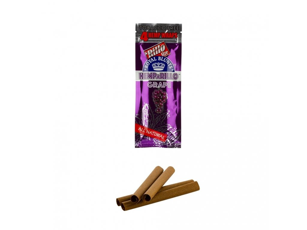 Konopné blunty Royal Blunts   Hemparillo Grape