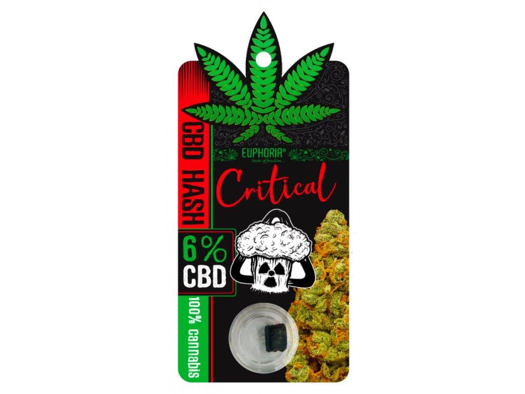 CBD HASH Critical 6%