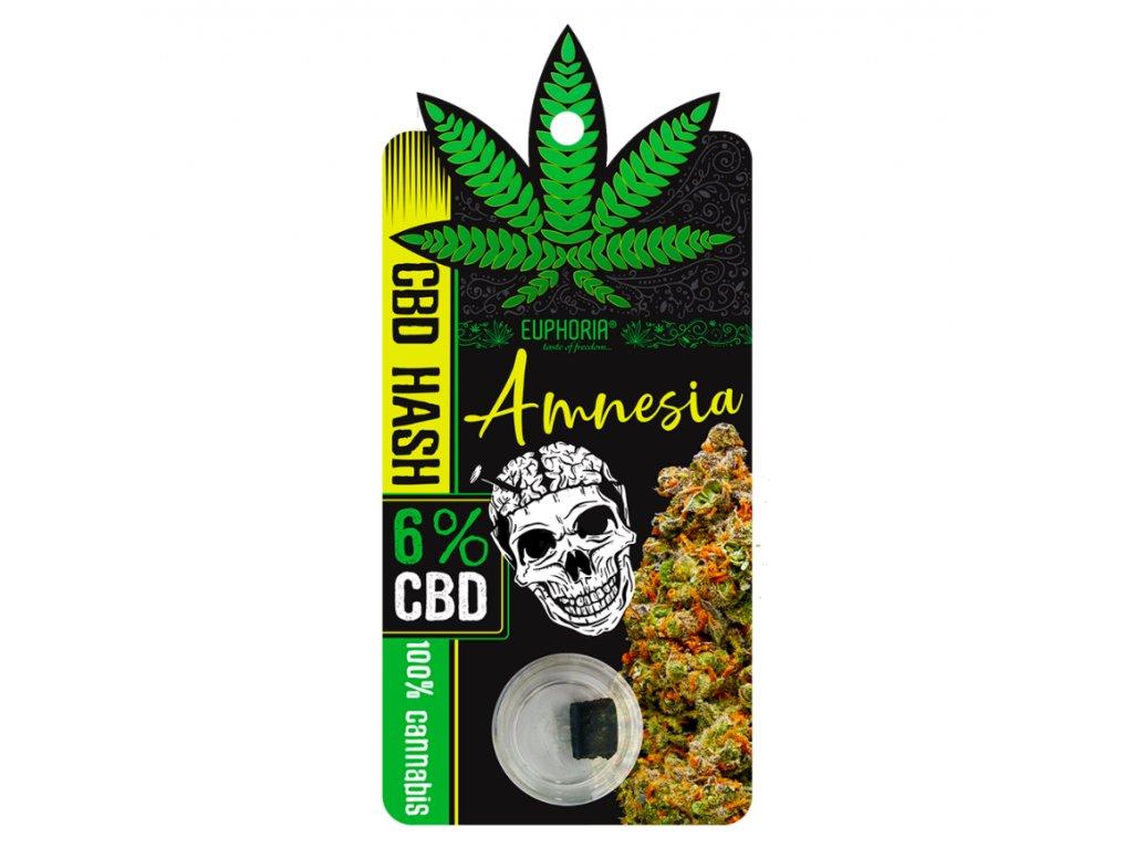 CBD HASH Amnesia 6%