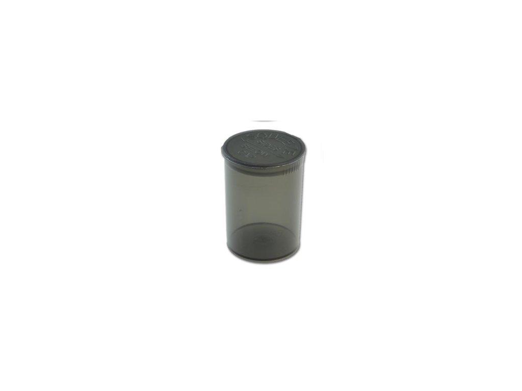 Pop Top uzavíratelná kapesní dóza černá 110 ml