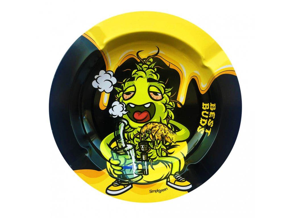 Best Buds Kovový popelník Dab-All-Day