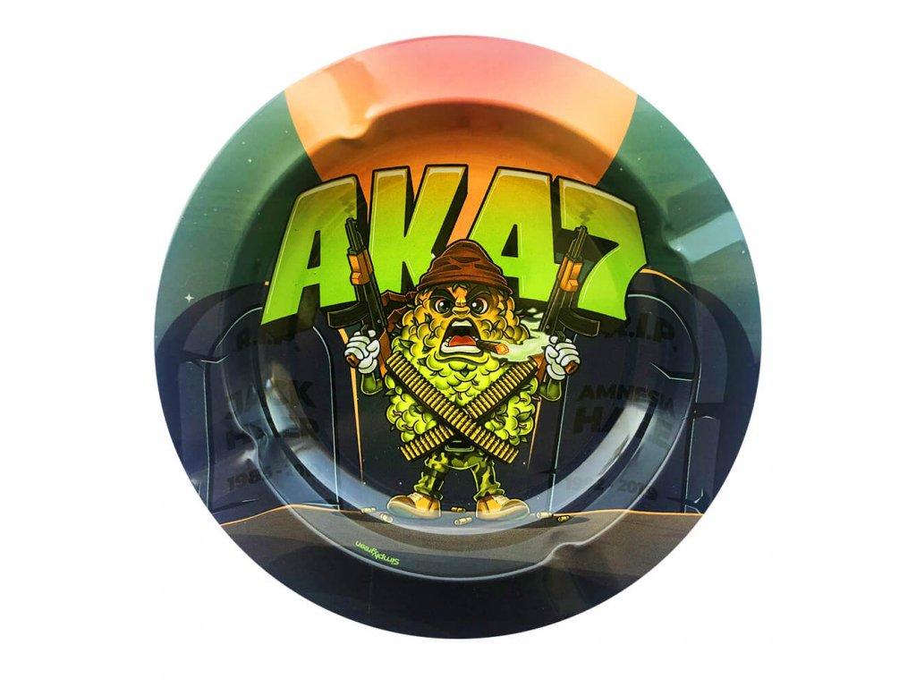 Best Buds Kovový popelník AK47