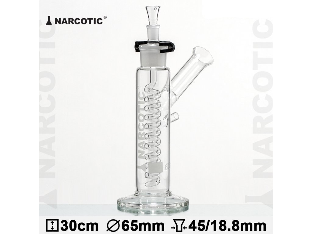 Skleněný bong Glass Bong Narcotic