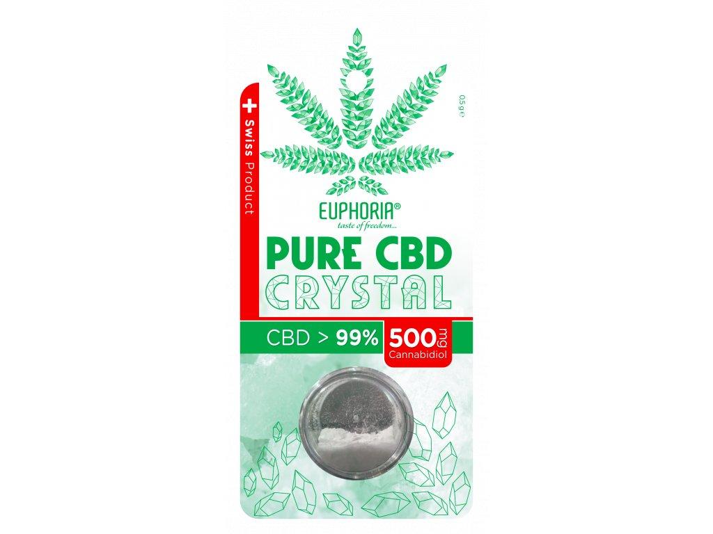PURE CBD KRYSTAL 99% (500MG) 0,5 G