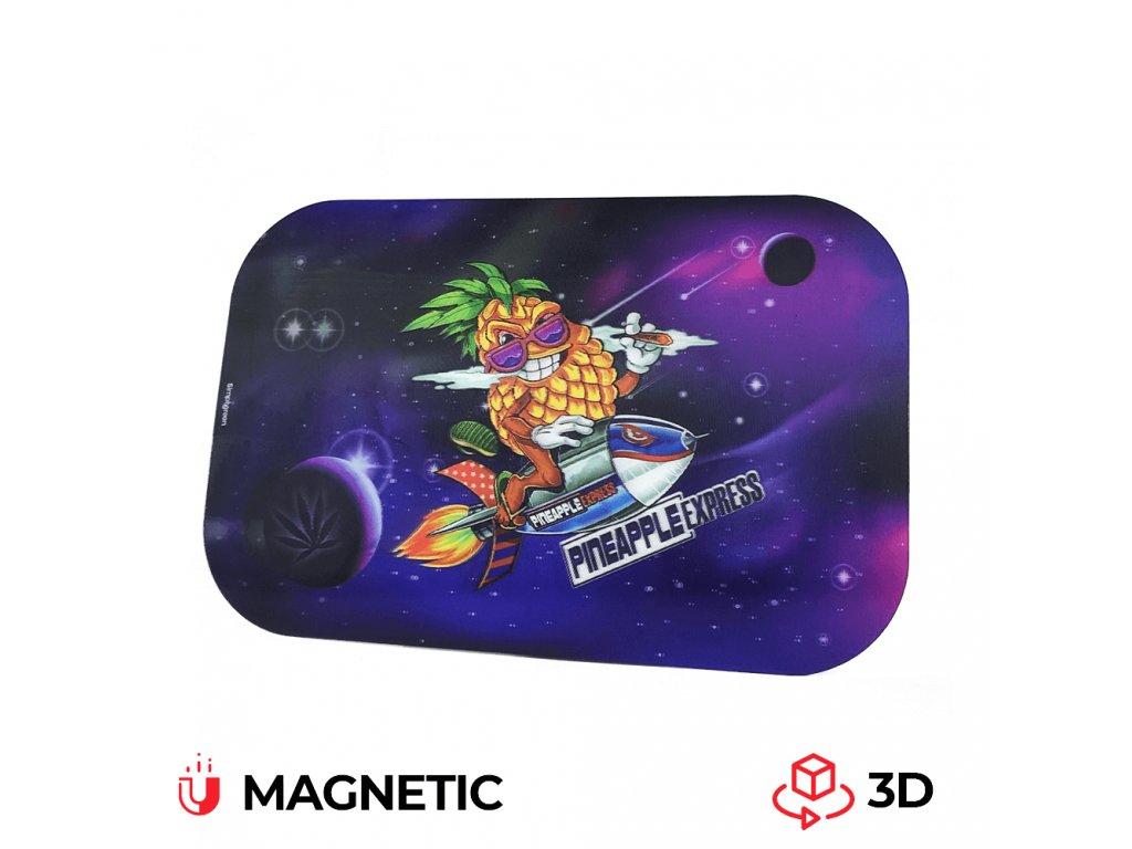 Velké magnetické víko na balicí podložku Best Buds 3D Pineapple Express