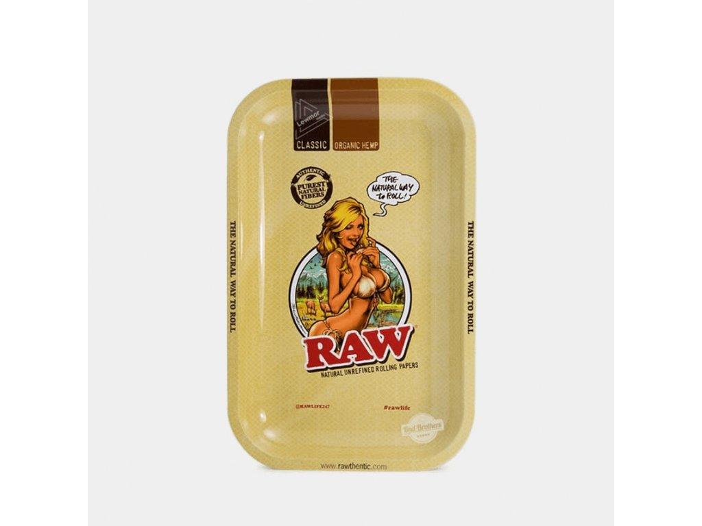 RAW Girl kovová balicí podložka M