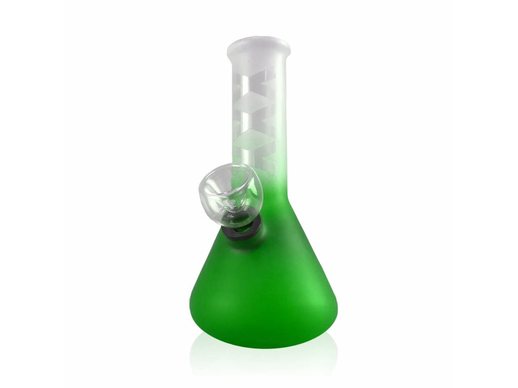 Amsterdam XXX skleněný bong Zelený 15 cm