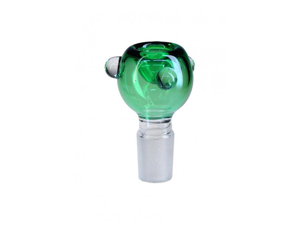 Skleněný kotlík 'Blaze' zelený