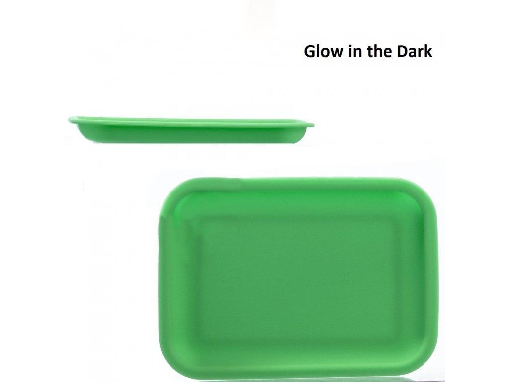 Zelená podložka svíticí ve tmě Rolling tray