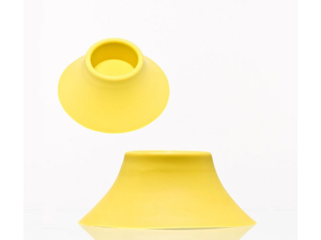 Žlutá silikonová základna pro bongy Silicon Base for Bongs - YELLOW
