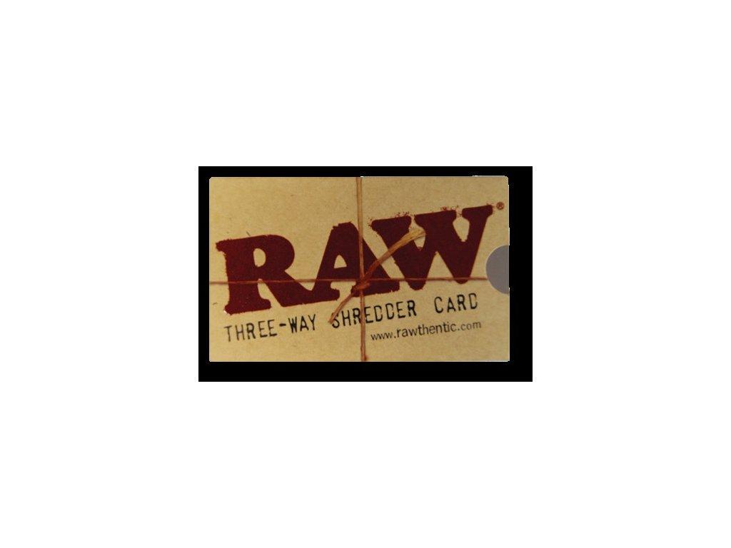 Drticí karta RAW SHREDDER CARD