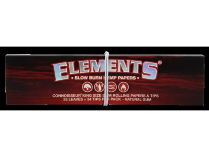 ELEMENTS Cigaretové papírky a filtry RED CONNOISSEUR 32 ks