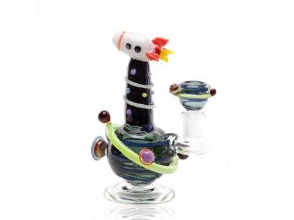 Skleněný bong Rocket Ship