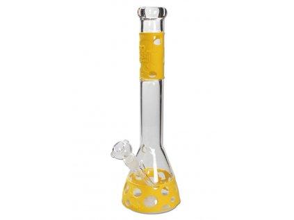 'BL' 'Silly Skin' Flask Bong se silikonovým povrchem -26 gelb
