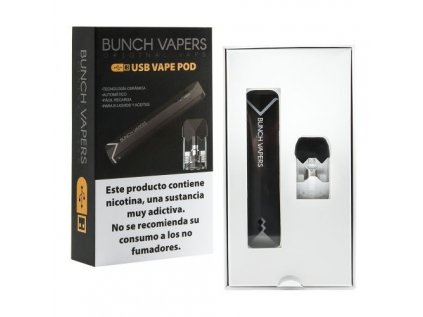 Bunch Vapers Black vaporizer Kit POD