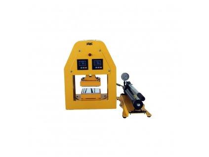 Qnubu Rosin Press hydraulický lis 20 tun, vyhřívaná lisovací plocha 12x12cm