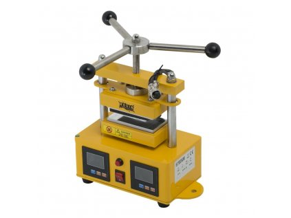 Qnubu Rosin Press manuální lis 1 tuna, vyhřívaná lisovací plocha 6x12cm