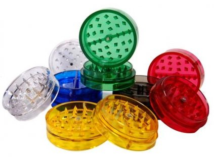 buddies clear plastic grinders all club420