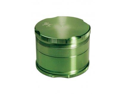Metalicko-zelená drtička New Edge Ø 5 cm