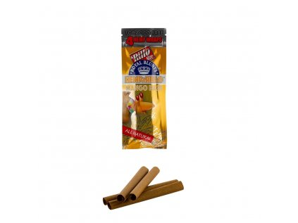 Royal Blunts Hemparillo Konopné blunty mango, 4 ks