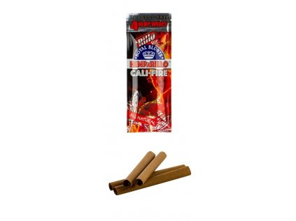 Royal Blunts Hemparillo Konopné blunty cali fire, 4 ks
