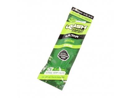 Předbalené konopné papírky s filtrem KUSH CONICAL - original