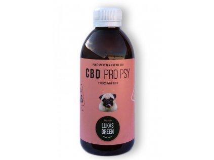 CBD pro psy v lososovém oleji 250 ml