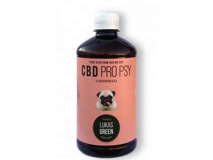 CBD pro psy v lososovém oleji 500 ml