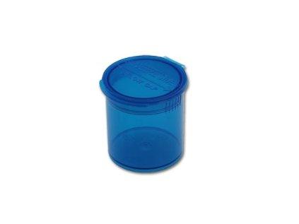 Pop Top uzavíratelná kapesní dóza modrá, 20 ml