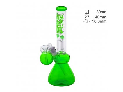 Amsterdam | Bong Glass - H: 30cm Ø: 40mm S: 19.14mm