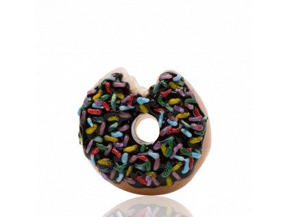 Skleněná fajfka Sprinkle Donut
