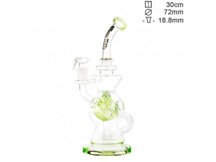 Thug Life | Recycler Series Green - H:30cm - SG:18.8mm - Ø:72mm