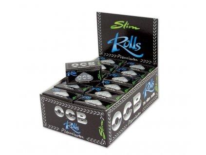 4209 ocb premium slim rolls approx 4m x 44mm per roll