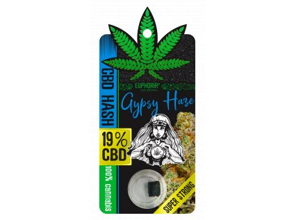 CBD HASH Gypsy Haze 19%
