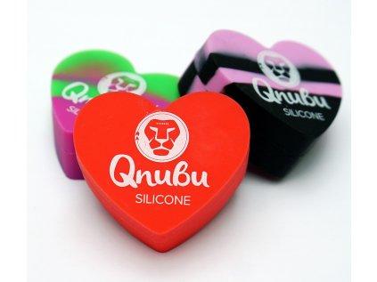 Qnubu Rosin Heart silikonové pouzdro, 18 ml