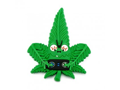 Hempy the Gamer Silicon Cannabis 3D Magnet.
