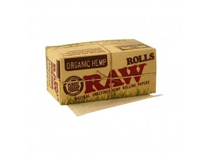 Nekonečné papírky RAW Organic Hemp Rolls 5 m