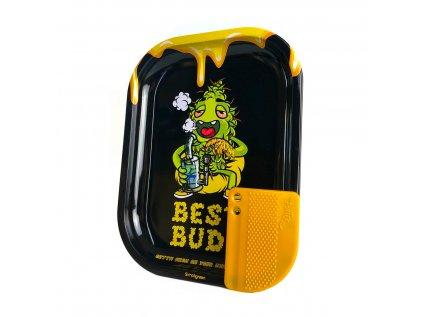 Malá kovová balicí podložka Best Buds Dab-All-Day