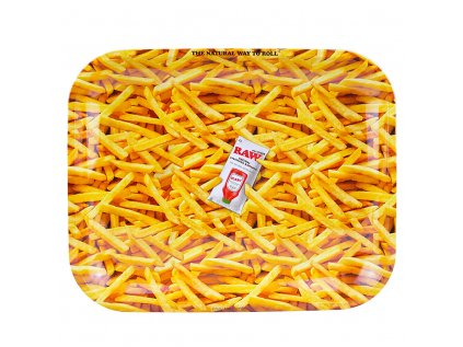 RAW French Fries kovová balicí podložka L