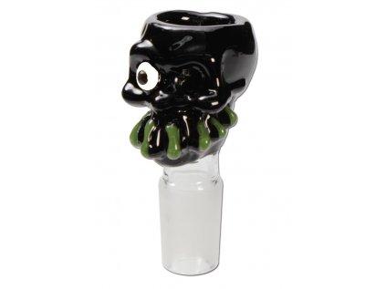 Skleněný kotlík 'Zombie' černý