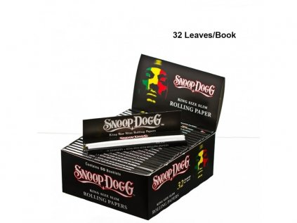 Papírky Snoop Dogg smoking King size slim rolling papers 32...