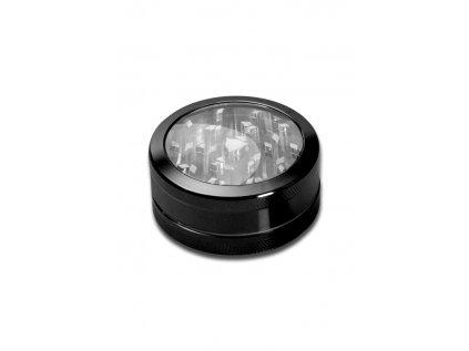 Hliníková drtička s průzorem Neutral Window Grinder 2-part anodised black